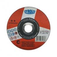 Диск карбофлексов TYROLIT STANDARD 125х1.0х22.23мм, за рязане на неръждаема стомана