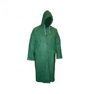 Дъждобран TOPSTRONG XXL, с качулка, 0.20мм, поливенилхлорид, зелен