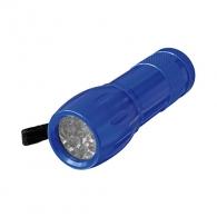 Фенер светодиоден ERBA 9 LED, 3 x 1.5V, тип AAA, LED, с връвка за ръката