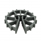 Фиксатор NIDEX Omega 30/4-12, кръгъл пластмасов за вертикална армировка - small, 132734