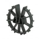 Фиксатор NIDEX Omega 30/4-12, кръгъл пластмасов за вертикална армировка - small