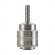 Куплунг бърза връзка RAIDER ф6мм, за маркуч, стомана с никелирано покритие