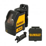 Линеен лазерен нивелир DEWALT DW088K, 2 лазерни линии, точност 3mm/10m, автоматично