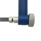 Лък за ръчна ножовка ERBA 150мм, с режещ лист комплект, пластмасова дръжка - small, 100294