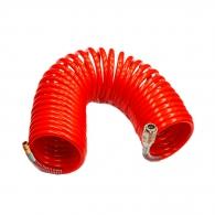 Маркуч спирален за въздух GAV ф8х10мм/10м, с бърза връзка