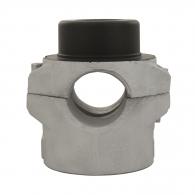 Накрайник за поялник за заваряване DYTRON ф25мм/черен, за тръби PP,PB,PE,PVDF, 500W/650W, кръгла муфа, черен тефлон