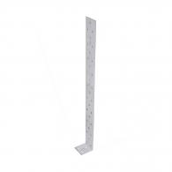 Планкa монтажен ъгъл DOMAX KK 3 40х40х400x2.0мм, поцинкована, 20бр. в опаковка