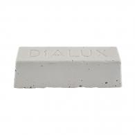 Полирпаста за полиране на метал DIALUX BLANC, бяла, за фино полиране на всички метали