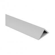 Профил за скосен ъгъл NIDEX Т1/20, 2.5м, 20х20х28.5мм, в опаковка 100м