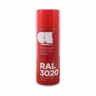 Спрей маркиращ COSMOS LAC, червен, №330, RAL 3020, 400мл