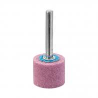 Абразивен шлайфгрифер SWATYCOMET 25х20х6мм, форма OА-плосък цилиндър, цвят розов, 40А