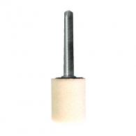 Абразивен шлайфгрифер SWATYCOMET 25х40х6мм, форма OB-цилиндър, цвят бял, 22А