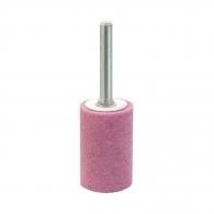Абразивен шлайфгрифер SWATYCOMET 25х40х6мм, форма OB-цилиндър, цвят розов, 40А