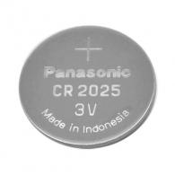 Батерия PANASONIC CR2025 3V, 6BP, литиева, 165mAh