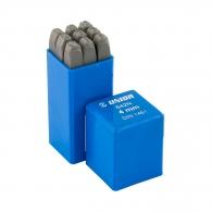 Цифри за набиване UNIOR 4мм, к-кт 9бр., инструментална стомана
