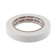 Двойнозалепваща лента MAGUS 19мм/5м, бяла, полиуретанова, за вътрешно приложение