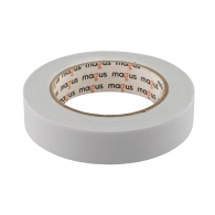 Двойнозалепваща лента MAGUS 25мм/5м, бяла, полиуретанова, за вътрешно приложение