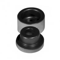Накрайник за поялник за заваряване DYTRON ф25мм/черен, за тръби PP,PB,PE,PVDF, 850W/1200W, плоска муфа, черен тефлон