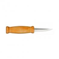 Нож резбарски MORA Erik Frost 105, с дръжка от импрегнирана бреза