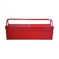 Куфар за инструменти BESSOL 430х200х160мм, метален, 2 дръжка, 3 отделения