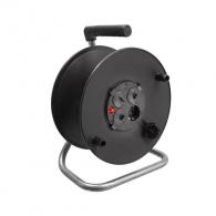 Макара за кабел AS SCHWABE ф235мм, пластмасова, 4-контакта, до 25м кабел 3х1.5 H05VV-F, IP20