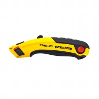 Макетен нож STANLEY FatMax 18х180мм, метален корпус, 5бр резервни остриета