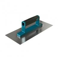 Маламашка за мазилка PIK TOOLS 280х120мм, права, неръждаема стомана, двyкомпонентна дръжка