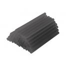 Патрони за топло лепене RAIDER ф11x200мм, черни, комплект 6бр, в блистер  - small