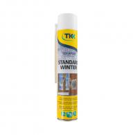 Пяна полиуретанова TKK Tekapur Standard Winter 750мл, ръчна, зимна (от -10°C до +35°C)