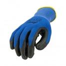 Ръкавици B HOLD GNK + NP XEMA, противосрезни от полиестер,топени в нитрил,ластичен маншет  - small, 126406