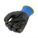 Ръкавици B HOLD GNK + NP XEMA, противосрезни от полиестер,топени в нитрил,ластичен маншет  - small, 126407