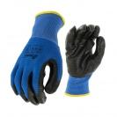 Ръкавици B HOLD GNK + NP XEMA, противосрезни от полиестер,топени в нитрил,ластичен маншет  - small