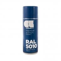 Спрей маркиращ COSMOS LAC, тъмно син, №316, RAL 5010, 400мл