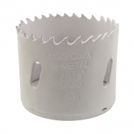 Боркорона биметална ABRABORO 25мм, за дърво и цветни метали, HSS-Co 8%, Bi-Metal