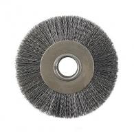 Четка дискова за шмиргел ф150x30мм, стоманена тел