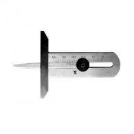 Дълбокомер за автомобилни гуми ЗИИУ Стандарт 0378 0-50мм, неръждаема стомана, 70мм-дължина