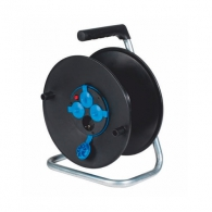 Макара за кабел AS SCHWABE ф285мм, пластмасова, 4-контакта, до 50м кабел 3х1.5 H05VV-F, IP20