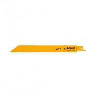 Нож за ел.ножовка DEWALT 1.8x203/175мм, метал, BiM, захват универсален