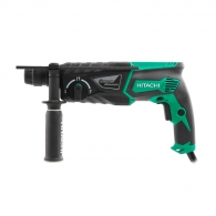 Перфоратор HITACHI DH26PC, 830W, 0-1100об, 0-4300уд/мин, 3.2J, SDS-plus