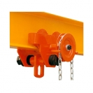 Плъзгач релсов HU-LIFT HGT10 1t, 3м - верига - small
