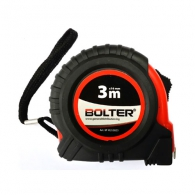Ролетка BOLTER 3m x 16mm, гумирана, пласмасов корпус