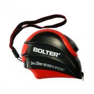 Ролетка BOLTER 5m х 25mm, пласмасов корпус, с автоматичен стоп