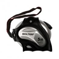 Ролетка BOLTER 5m х 25mm, гумирана, пласмасов корпус, с автоматичен стоп