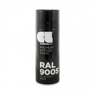 Универсален спрей-боя COSMOS LAC 400мл-черен, №303, RAL 9005, гланц