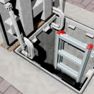 Анкер втулков с гайка FRIULSIDER 79600 M10/12х129мм, за средни натоварвания, 20бр. в кутия - small, 137527