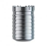 Боркорона с твърдосплавни пластини DREBO 68х100/80мм, за бетон и зидария, с вътрешна резба (система Versio), сухо пробиване