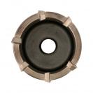 Боркорона с твърдосплавни пластини RITTER 68х100/80мм, за бетон и зидария, с вътрешна резба (система Versio), сухо пробиване - small, 137002