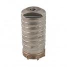 Боркорона с твърдосплавни пластини RITTER 68х100/80мм, за бетон и зидария, с вътрешна резба (система Versio), сухо пробиване - small, 137003