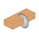 Диск с твърдосплавни пластини CMT 140/2.4/20 Z=20, за рязане на мека и твърда дървесина, шперплат - small, 87897