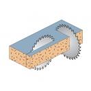 Диск с твърдосплавни пластини CMT 260/2.8/30 Z=80, за рязане на алуминий, месинг, медни сплави, пластмаса, меламин и др. - small, 87407